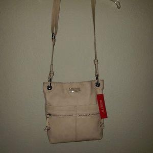 Rosetti beige crossbody purse NWT